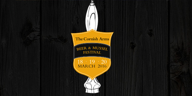 Win free beer at The Cornish Arms' Beer and Mussel Festival 2016
