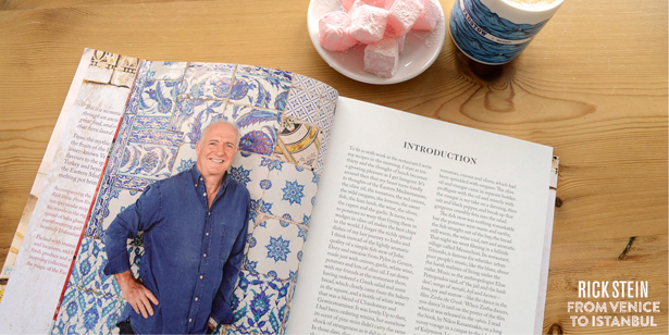 Rick Stein's new book From Venice to Istanbul