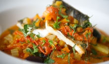 Fish and fizz cookery course