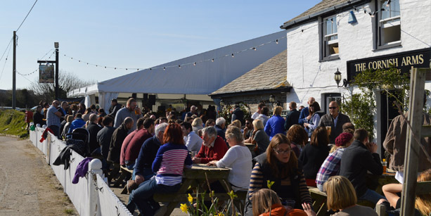 Beer and Mussel Festival with RIck Stein in COrnwall