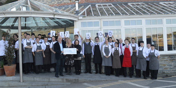 Rick Stein and Jill Stein raise £17,500 for Children's Hospice South West