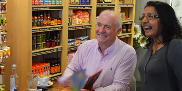 Rick Stein book signing Feb 19th at Stein's Deli