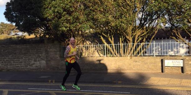 Good luck at the London Marathon, Nat