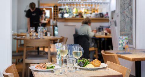 Family friendly restaurant Cornwall - Rick Stein's Cafe.
