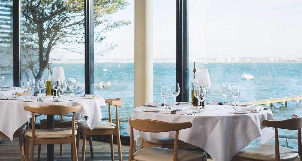 Rick Stein Sandbanks - Restaurant near Poole and Bournemouth. Sea view.