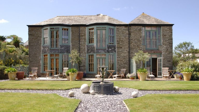 Luxury hotel rooms in Padstow, Cornwall. St Edmunds House - Rick Stein.
