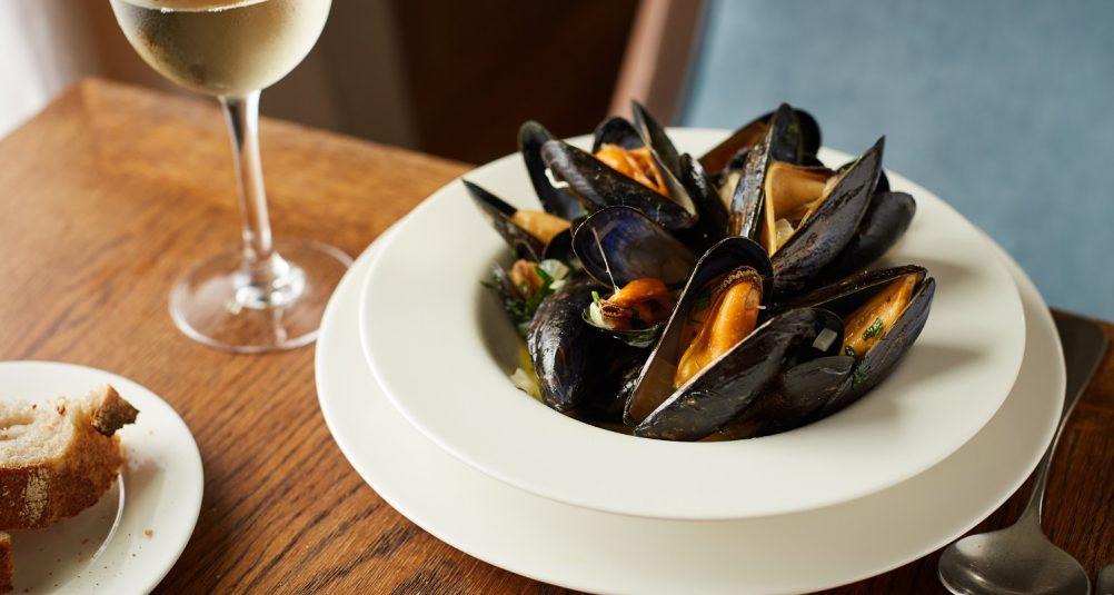 Marlborough - Rick Stein's Restaurant. Best restaurants Wiltshire. Mussels.