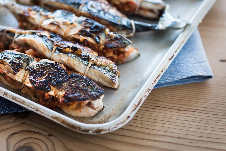 Rick Steins Cornwall - Mackerel recheado recipe