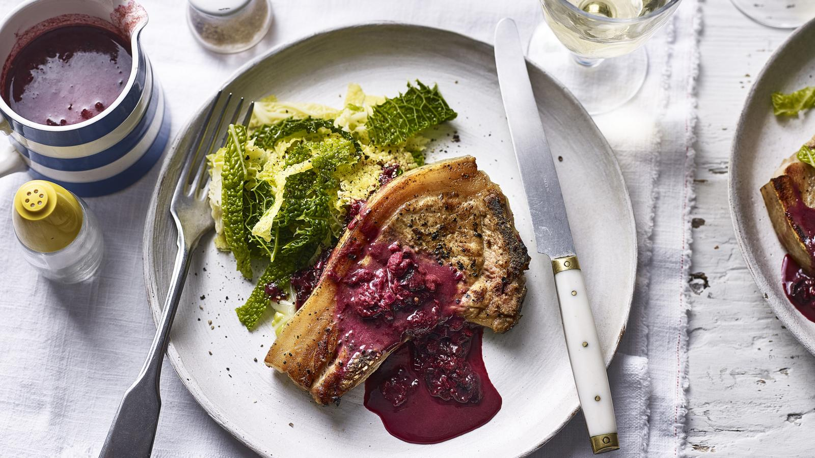 Pork Chops Rick Stein's Cornwall